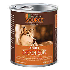 Simply Nourish™ Source Adult Dog Food - Grain Free, High Protein, Chicken