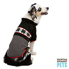 Martha Stewart Pets® Holiday Fairisle Fleece Dog Sweater