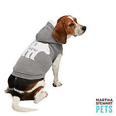 "Martha Stewart Pets® Holiday ""Let it Snow"" Hoodie"