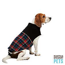 Martha Stewart Pets® Holiday Sherpa Barn Coat