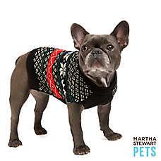 Martha Stewart Pets® Holiday Fair Isle Dog Sweater