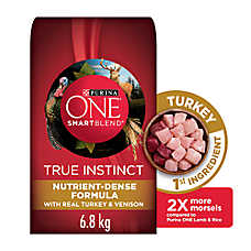 Purina® ONE® SmartBlend True Instinct Adult Dog Food - Turkey & Venison