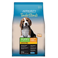Authority® Tender Blends Puppy Food - Chicken & Rice