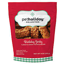Pet Holiday™ Holiday Jerky Dog Treat - Turkey & Sweet Potato