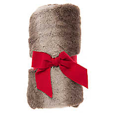 Pet Holiday™ Faux Fur Pet Throw Blanket