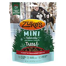 Zuke's® Mini Naturals™ Trees Dog Treat - Natural, Turkey & Cranberry