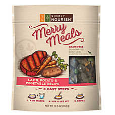 Simply Nourish™ Merry Meals Dog Food - Grain Free, Lamb & Potato