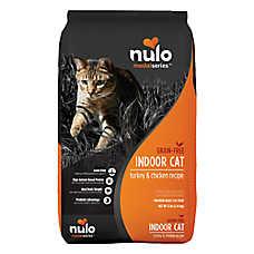 Nulo MedalSeries Indoor Adult Cat Food - Grain Free, Turkey & Chicken