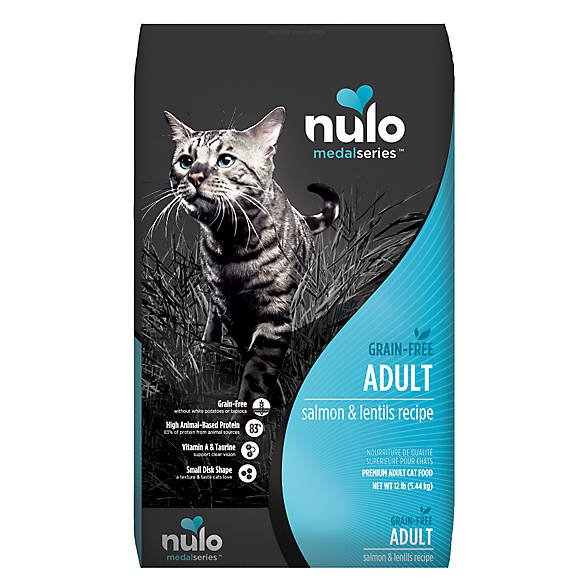 Nulo MedalSeries Adult Cat Food - Grain Free, Salmon ...