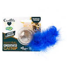 OurPets® Twinkle Ball Natural Concentrated Catnip Cat Toy