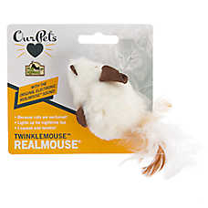 OurPets® TwinkleMouse RealMouse Cat Toy