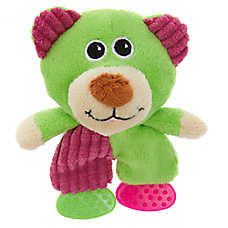 "Puppies""R""Us™ Teether Feet Plush Dog Toy(COLOR VARIES)"