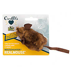 OurPets® MouseHunter RealMouse Catnip Cat Toy