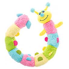 "Puppies""R""Us™ Caterpillar Squeaker Dog Toy"