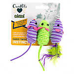 OurPets® Three Twine'd Mice Instinct Cat Toy