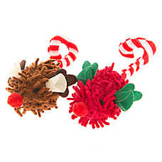 OurPets® Holiday Peppermint Duo Cat Toy