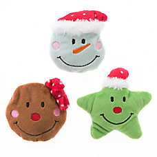 OurPets® Holiday 3-Pack Cuties Cat Toy