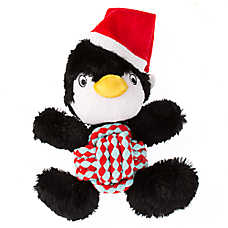 KONG® Holiday Weave Knots Penguin Dog Toy