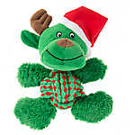 KONG® Holiday Weave Knots Reindeer Dog Toy