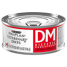 Purina® Pro Plan® Veterinary Diets DM Dietic Management Cat Food