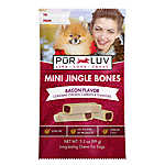 Pur Luv™ Mini Jingle Bones Dog Treat - Bacon