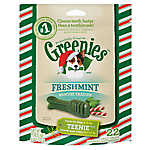 GREENIES® Seasonal Teenie Dental Dog Treat - Freshmint