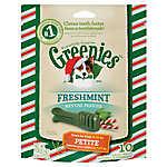 GREENIES® Seasonal Petite Dental Dog Treat - Freshmint