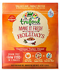 Wellness® TruFood® Make It Fresh For the Holidays Dog Food - Natural, Grain Free, Turkey Dinner