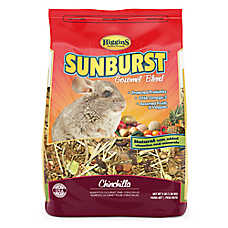Higgins Sunburst Gourmet Chinchilla Food
