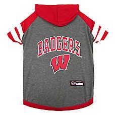 Wisconsin Badgers NCAA Hoodie T-Shirt