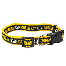 Pets First Green Bay Packers NFL Dog Collar