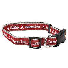 Alabama Crimson Tide NCAA Dog Collar