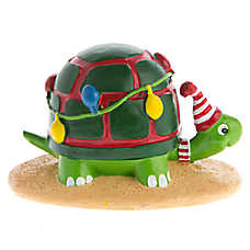 Top Fin® Pet Holiday Turtle Aquarium Ornament