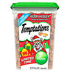 WHISKAS® TEMPTATIONS® Merry Medley Cat Treat - Chicken & Seafood