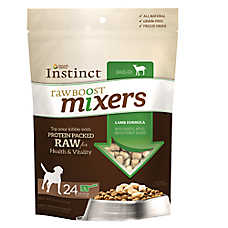 Nature's Variety® Instinct® Raw Boost Mixers Dog Food Topper - Grain Free, Freeze Dried Raw, Lamb
