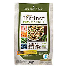 Nature's Variety® Instinct® Raw Market Meal Blends Dog Food - Grain Free, Freeze Dried, Chicken