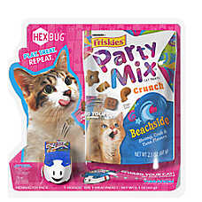Friskies® Party Mix™ Crunch and Hex Bug Cat Treat - Beaside
