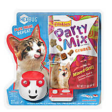Friskies® Party Mix™ Crunch and Hex Bug Cat Treat - Mixed Grill
