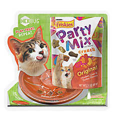 Friskies® Party Mix™ Crunch and Hex Bug Cat Treat - Original