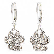 Pet Friends Paw Drop Earrings