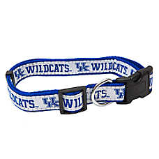 Pets First Kentucky Wildcats NCAA Dog Collar