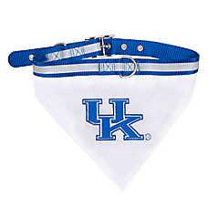 Pets First Kentucky Wildcats NCAA Collar Bandana