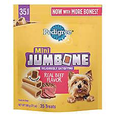 PEDIGREE® JUMBONE® Mini Dog Treat - Beef