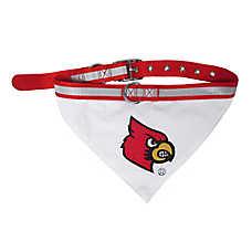 Pets First Louisville Cardinals NCAA Collar Bandana