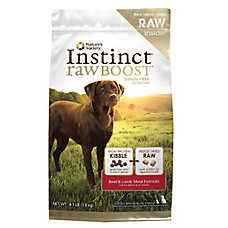 Nature's Variety® Instinct® Raw Boost Dog Food - Grain Free, High Protein, Beef & Lamb Meal