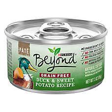 Purina® Beyond Natural Cat Food - Grain Free, Duck & Sweet Potato