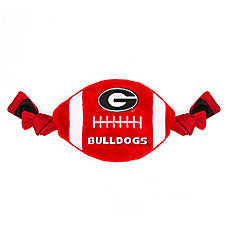 Georgia Bulldogs NCAA Flattie Crinkle Football Toy