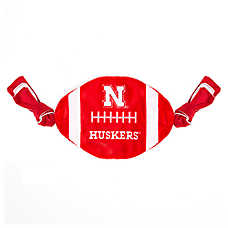 Nebraska Cornhuskers NCAA Flattie Crinkle Football Toy