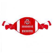 Ohio State Buckeyes NCAA Flattie Crinkle Football Toy