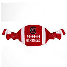 South Carolina Gamecocks NCAA Flattie Crinkle Football Toy